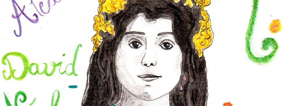 Alexandra David-Néel par Béa