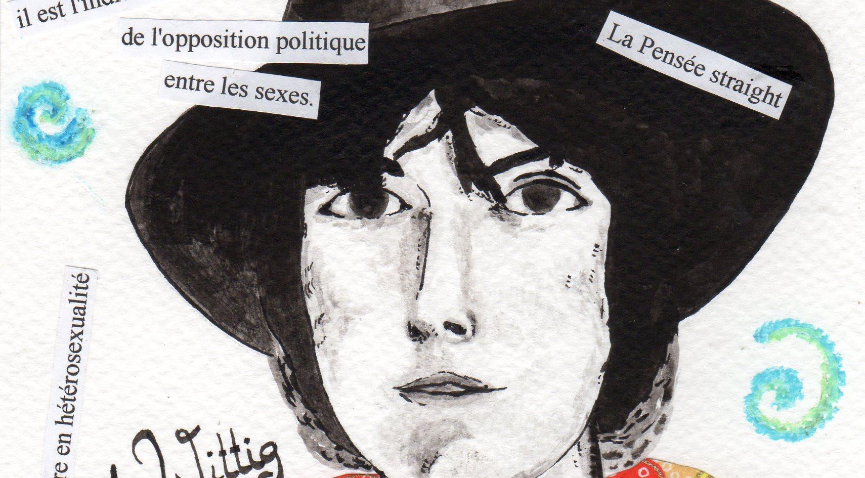Monique Wittig par Béa