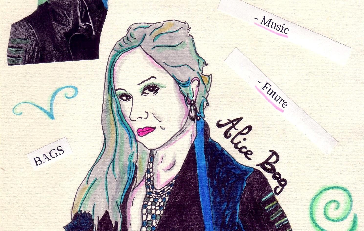Alice Bag par Pam Méliee Sioux