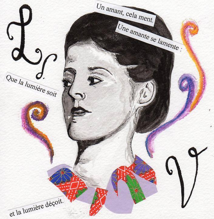 Louise de Vilmorin par Béa