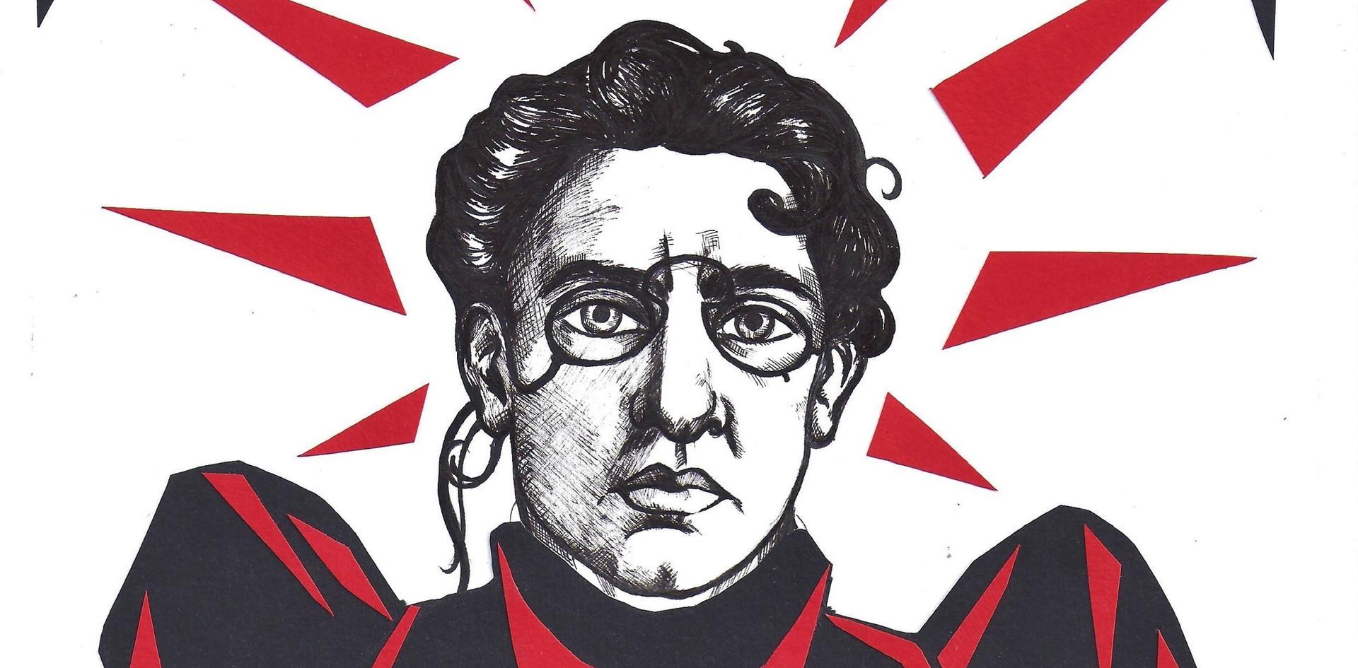 Emma Goldman par Laurène Hamery Ferraz