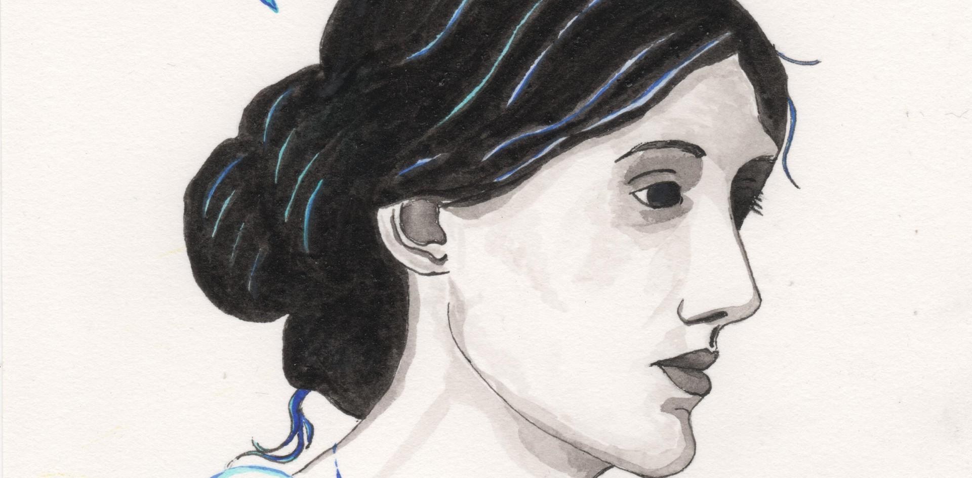 Virginia Woolf par Béa