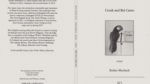 'Croak and Bel Canto', poetry collection