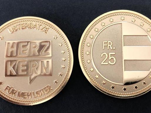 """Herzkern - """"Für meh Uster"""""""