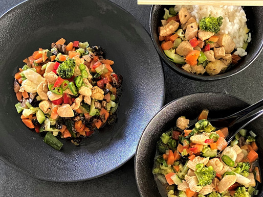 1 Gemüsekreation - 3 Gerichte