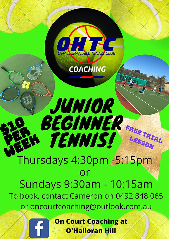 Junior Beginner Coaching Term 1 2021_pag