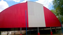 Cobertura de Poliesportivo Alpinopol