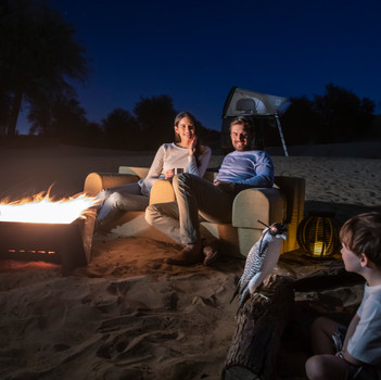 Explore a new way to camp in the desert with Sand Sherpa