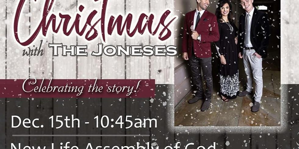 Christmas with THE JONESES