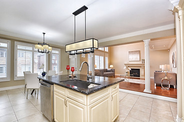 Images by John Hanson - Elegant Kitchen and Room