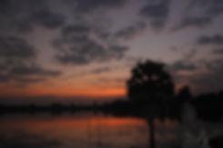 Sras Srang lake at dawn