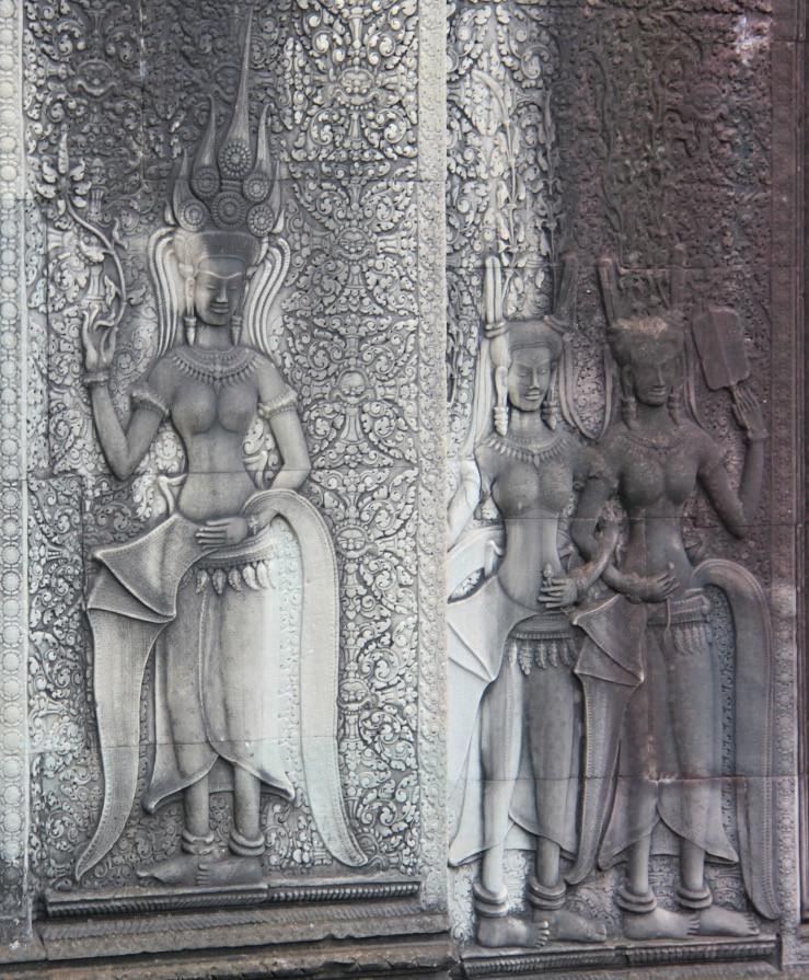 Apsara in Angkor Wat