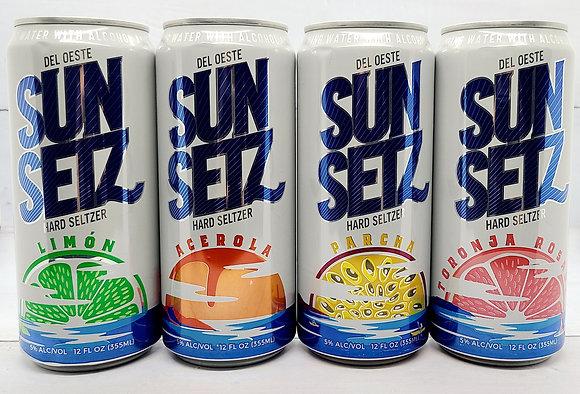 SunSetz Hard Seltzer