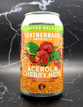 Acerola Cherry Hefe - Leatherback Brewing Co.
