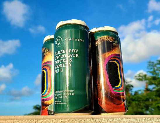 Collective Arts Blueberry Chocolate Coffee & Vanilla Sour