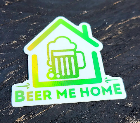 Beer Me Home Stickers