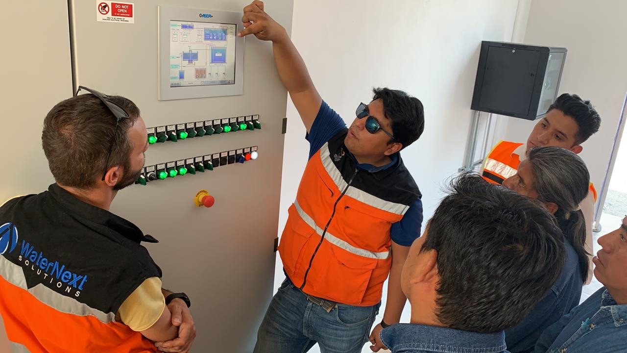 Descripción panel de control