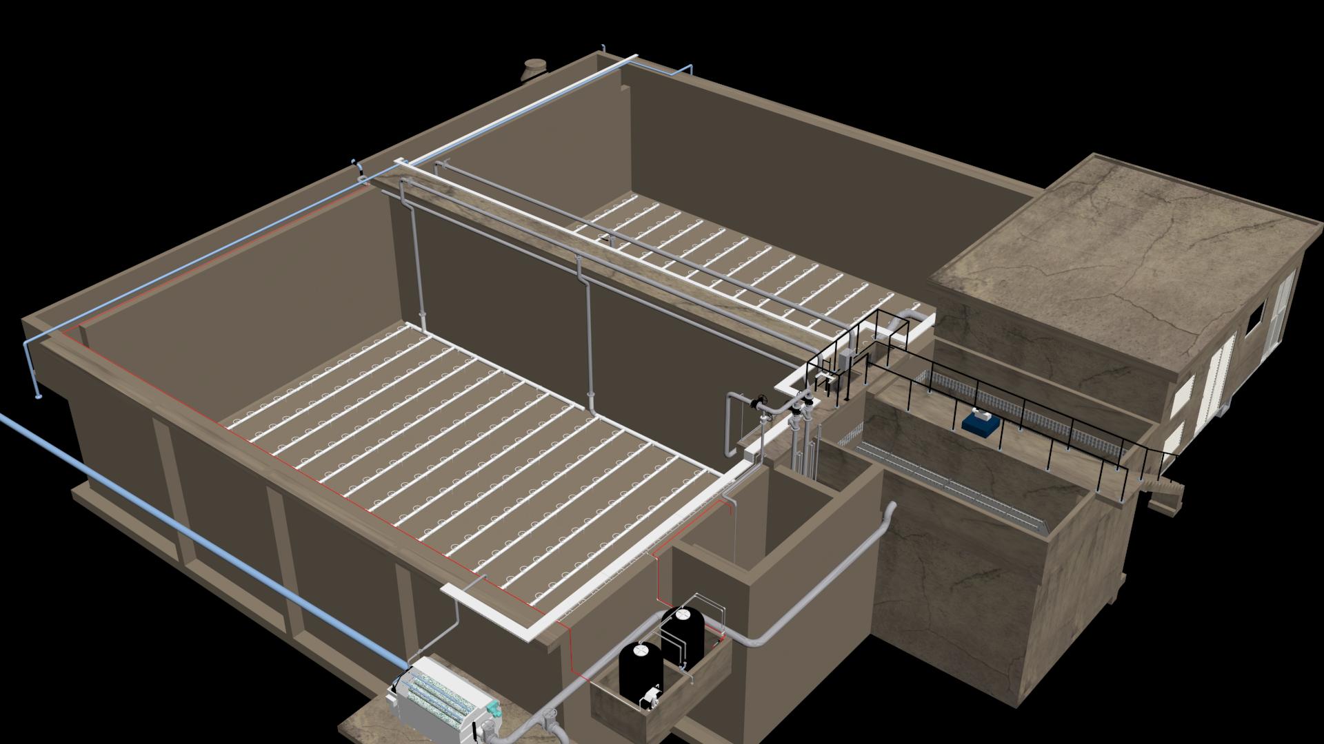 Render reactor biológico