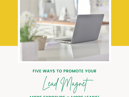 Five Ways to Promote Your Lead Magnet