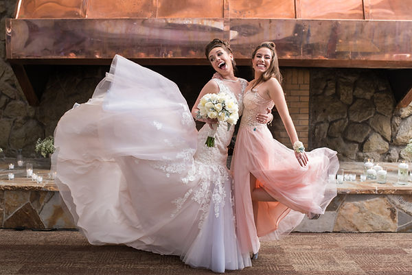 Bride and Maid of Honor Makeup