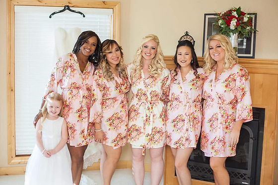 Bridal Party Makeup by Crystal Bell