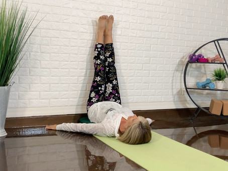 Yoga for Resilience: Legs-up-the-Wall Pose