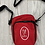 Thumbnail: Crossbody multi pocket Liver Bird bag