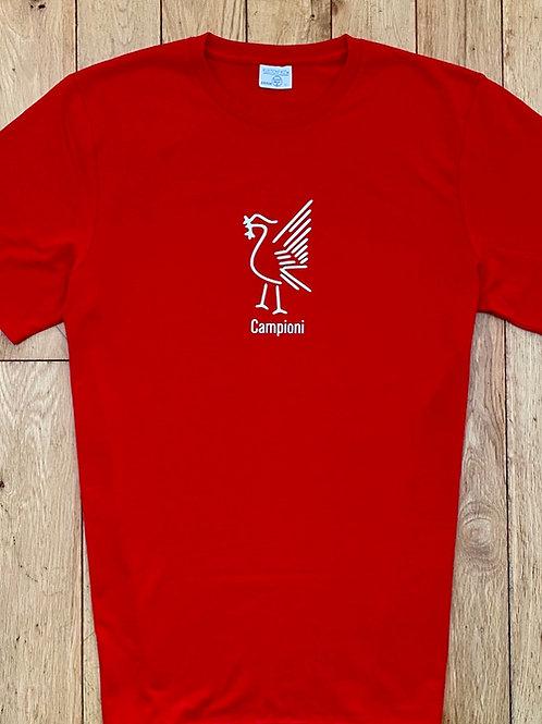 Liver Bird Campioni t-shirt