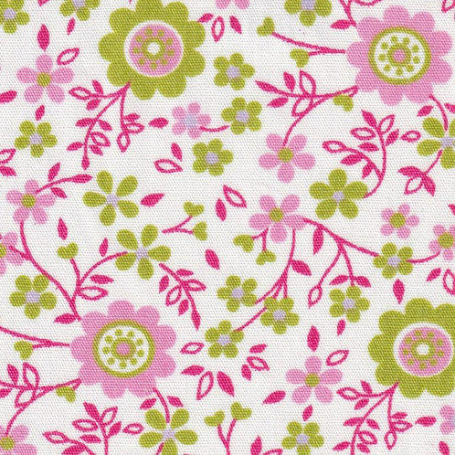 Pink, Lime and Lilac Floral - #2341