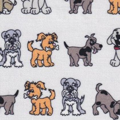 Puppy Dog Fabric – Print #2378
