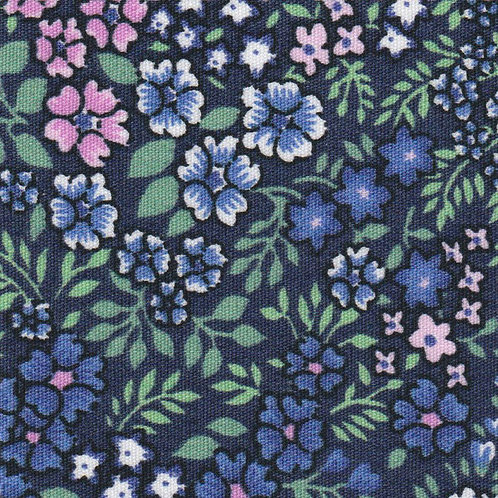 Blue, Pink and Green Floral  –  #2323