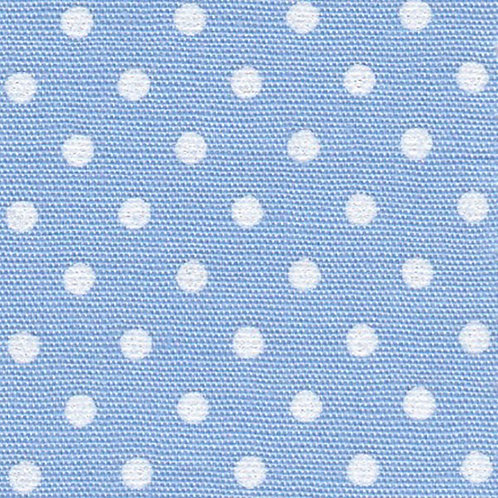 White Dots on Blue Fabric – Print #2162