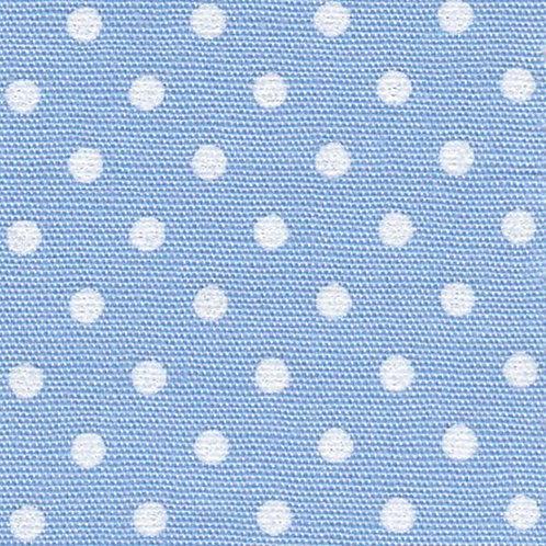 White Dots on Blue Fabric – Print #2162