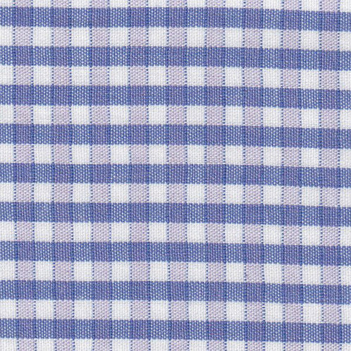 Royal, Lilac and White Plaid Fabric – P–63