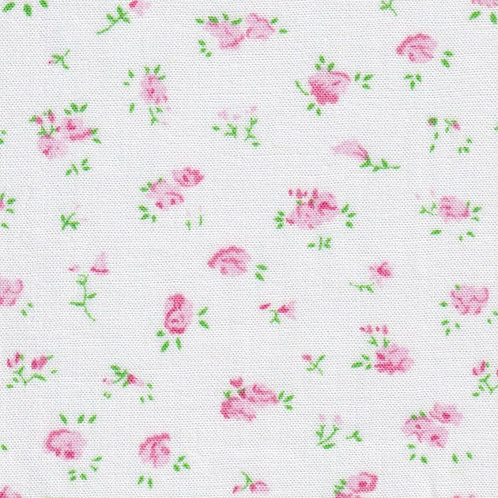 Pink and Green Floral - #2368