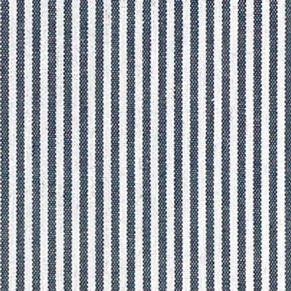 "Navy Stripe Fabric - 1/16"""