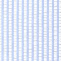 Striped Seersucker Fabric - Blue