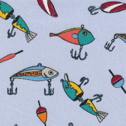 Fishing Lure Fabric - Print #2296