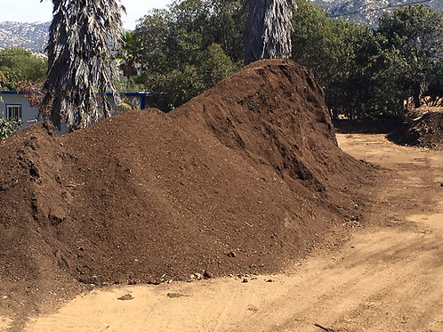 Mushroom Log Compost