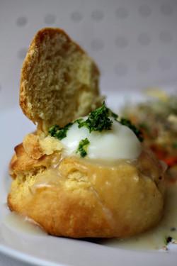 œuf parfait et brioche meurette