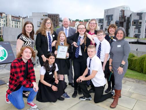 Scottish pupils compete in a 10 week Go4SET challenge