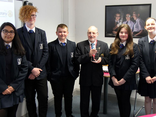 Go4SET team win an award at the National Finals of The Big Bang Fair!