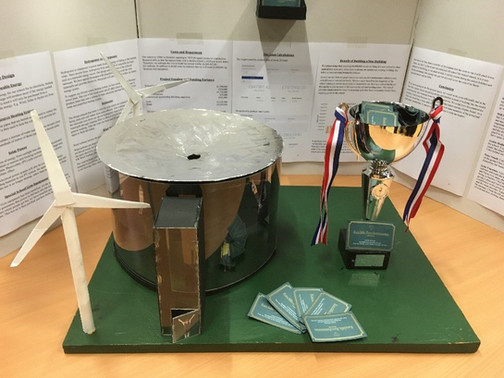 Physics students win the Best Overall Project award