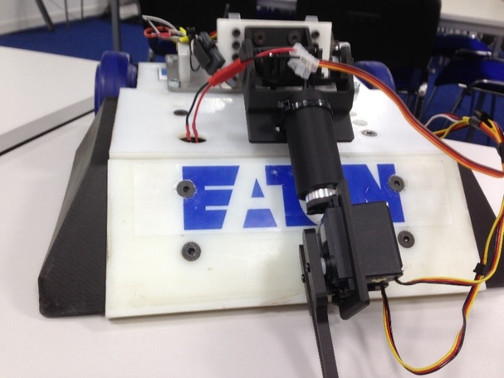 From assembling a robot to designing an automated arm – students complete work experiences at Eaton