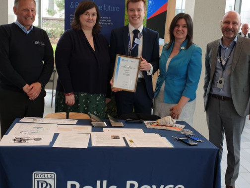 Business and Engineering Students Excel at EDT Contribution to the Business (CTTB) Awards in Scotlan
