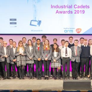 Industrial Cadet Awards 2019. Photograph