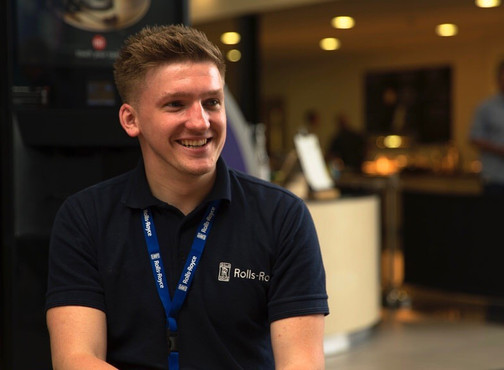 Steven Taylor's YINI Placement & Apprenticeship with Rolls-Royce