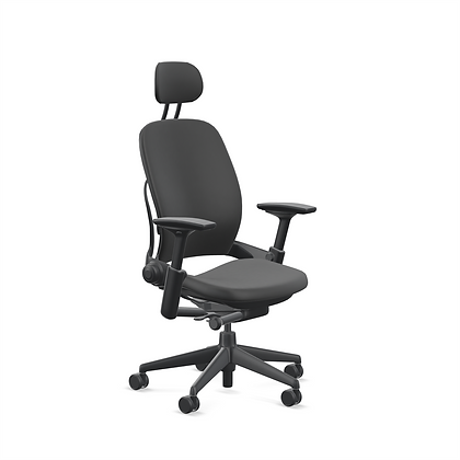 """Steelcase """"Leap"""" Chair with Headrest"""