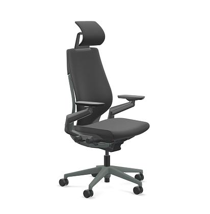 "Steelcase ""Gesture"" Task Chair with Headrest"