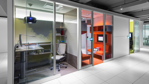 Architectural-Movable-Reconfigurable Walls    V.I.A    Steelcase   USA